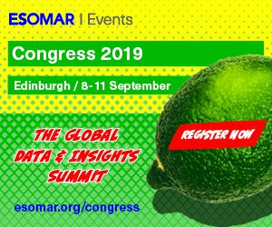 Attend ESOMAR Congress and VIP North America Breakfast